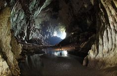 Deer Cave, Sarawak, Malaysia -- one of the largest caves in the world.