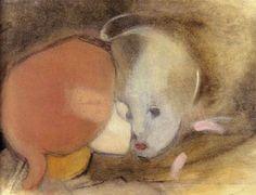Siblings - 1913 Helene Schjerfbeck