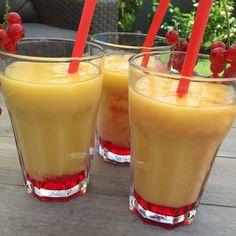 alkoholfreier Cocktail Thermomix tm5 Mango Orangensaft