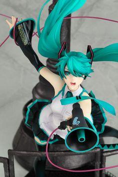 Character Vocal Series 01 PVC Figure - Vocaloid Hatsune Miku Love is War Ver. 1/8