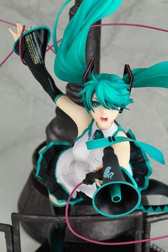 Character Vocal Series 01 PVC Figure - Vocaloid Hatsune Miku Love is War Ver. 1/8