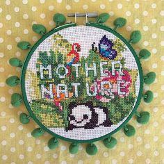Make Happy, Cute Diys, Craft Kits, Cross Stitch, Super Cute, Diy Crafts, Kawaii, Crafty, Box