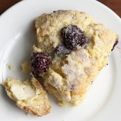 Blackberry Scones @keyingredient
