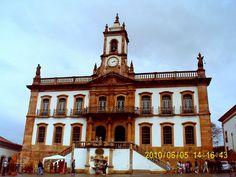 Museu da Inconfidência, localizado no prédio da Casa Câmara e Cadeia, em Ouro Preto.