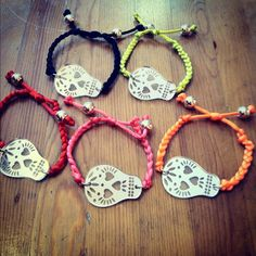 Sugar Skull Arm Candy Bracelets! Collect one in every color!