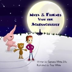 Maya and her friends, Bobby Bear and Ellie Elephant, go on an adventure together exploring the methods and magic of Chinese Medicine. When Maya gets sick, they visit Dr. Meow, a feline acupuncturist, who demystifies the experience of going for an acupuncture visit. Along the way, she explains concepts such as Qi and Yin