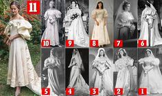 Woman is the 11th woman in her family to wear the same dress