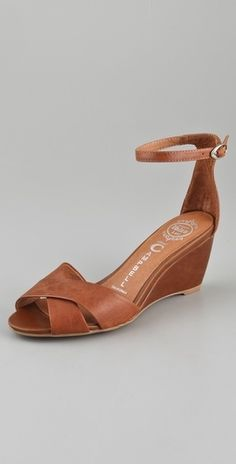 Jeffrey Campbell Trudeau Wedge Sandals - StyleSays