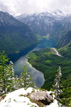 "Emmy DE * ""Königssee"" by Lars Rottgers on Flickr - This is a photograph of Lake Konigssee, Bavaria, Germany."