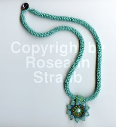 Roseann Straub's Turquoise Forget-Me-Not (Beads)