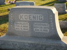 Catharine E. <i>Hemerly</i> Koenig