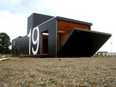 Giant Transportable Art Studio in Utrecht Welcomes Artists Inside its Drawbridge Door