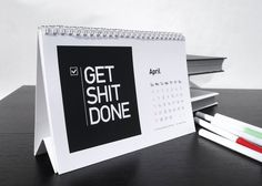 Startup Quote 2014 Desk Calendar / The Startup Quote 2014 Desk Calendar from Startup Vitamins is just what the doctor ordered for a renewed sense of commitment and dedication to your work in the New Year. http://thegadgetflow.com/portfolio/startup-quote-2014-desk-calendar/