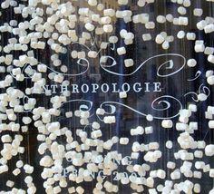 Yay! Marshmallow.  So clever. #anthrofave #juvenilehalldesign