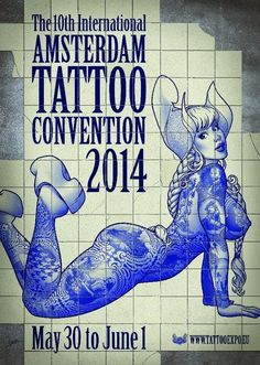 Exploriment: Amsterdam Tattoo Convention Posters