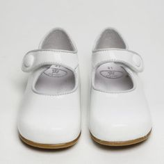 white patent Girls Wedding Shoes, Girls Shoes, Parsons Green, Flower Girl Shoes, Childrens Shoes, Party Shoes, Velcro Straps, Summer Sale, Paper Dolls