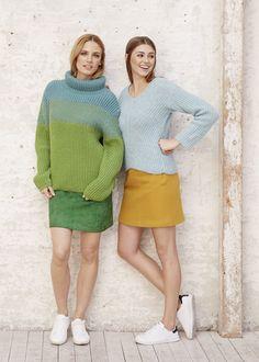 Turtle-Neck-Sweater, S10055A | Schachenmayr