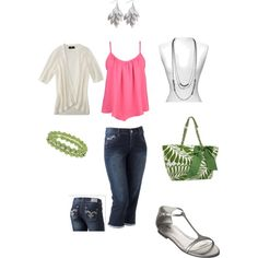 Casual Summer, created by jenn-dewey.polyvore.com