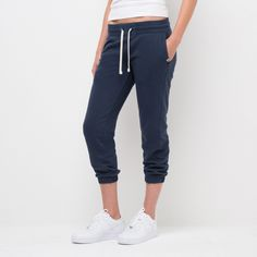 Cropped Gym Sweats | American Giant