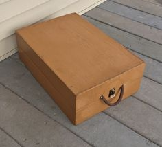 Wood Carring Case Suitcase Storage Stackable by ravished on Etsy