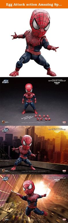 Egg Attack action Amazing Spider-Man 2 Spider-Man non-scale plastic-painted action figure. It's shipped off from Japan.
