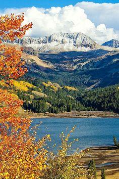 Colorado Mountains, Rocky Mountains, Telluride Colorado, Beautiful World, Beautiful Places, Beau Site, Image Nature, Lake Art, Parcs