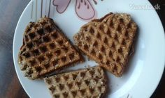 Slané wafle - recept   Varecha.sk Waffles, Breakfast, Food, Morning Coffee, Essen, Waffle, Meals, Yemek, Eten
