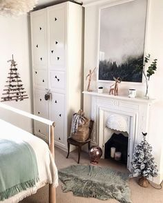 Here's the other side of Ruby's room (the one with the botanical wallpaper) again as you all seemed to love it last time! Botanical Wallpaper, Something Special, The Other Side, Bedroom, Home Decor, Instagram, Decoration Home, Room Decor, Bedrooms