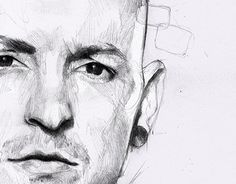 "Check out new work on my @Behance portfolio: ""One more light..."" http://be.net/gallery/56027247/One-more-light My tribute to chester bennington #linkinpark #onemorelight #chesterbennington #pencil #drawing"