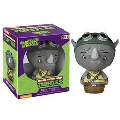Funko Teenage Mutant Ninja Turtles Dorbz Rocksteady Vinyl Figure - Radar Toys