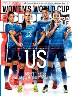 Through emotional storytelling and award-winning photography, Sports Illustrated provides you with complete coverage of all your favorite sports, including the NFL, College Football, Baseball, College Basketball, the NBA and more. Usa Soccer Team, Us Soccer, Girls Soccer, Soccer World, Team Usa, College Basketball, Soccer Stuff, Football Team, Soccer Girl Probs