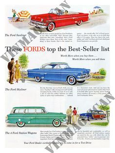 Ford, Car Advert, 1950s