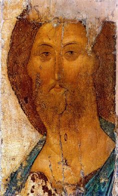 Saviour by Andrei Rublev (Russian: Андре́й Рублёв, also transliterated Andrey Rublyov, born in the 1360s, died 1427 or January 29, 1430)