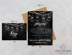 Invitation Endorphine, en version imprimable Invitation, Design, Printable, Design Comics, Invitations, Reception Card