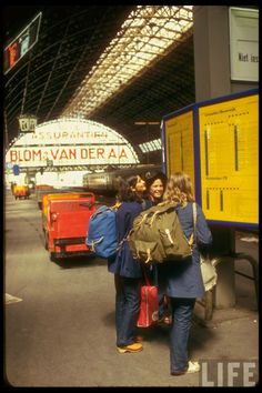 Euro Train Tripping in the Summer of 1970