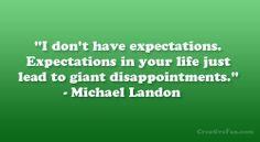 R.I.P.- Michael Landon Quote