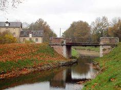 """Canal de la Sauldre : lieu-dit : """"Le Crot"""""""