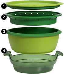 Tupperware's Smart Steamer. Just what you need for healthy eating. Promoted by Dr. Oz. On sale for half price until March 30. Contact me on FB to order yours and I'll throw in the Smart Meals Recipe Book (15.00 value). Check it out at http://order.tupperware.com/coe-html/splash/smartsteamer.html