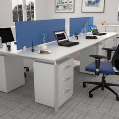 linea Zen Archivos Activos. ambientaciones de oficinas modernas. color azul