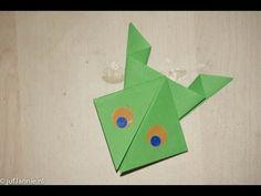 Leer hoe je een kikker kan vouwen van papier. Deze origami kikker is erg eenvoudig en goed te doen door kinderen vanaf 5 jaar. Bekijk op mijn website http://...