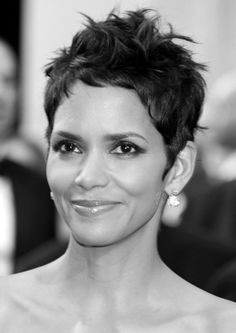 girl short haircuts 424 best halle berry images pixie cuts pixie hair 9725 | 0282eef5c7b42b945f9d3b25b51b9725 funky hairstyles celebrity hairstyles
