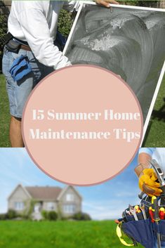 Get your home ready for summer with these 15 summer home maintenance tips!