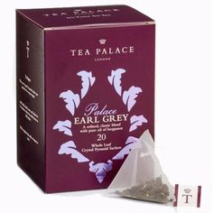 【TEA PALACE】Palace Earl Grey Crystal Tea Bags ティーパレス パレスアールグレイ紅茶 ティーバッグ