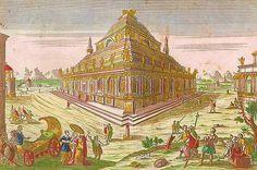... Mausoleum of Maussollos at Halicarnassus   by Wonders _