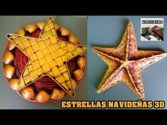 ESTRELLA 3D-TEJIDA. COLABORATIVO CON SOL - YouTube