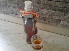 Rosenlikör - Rezept