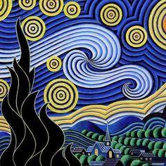 La página en la cual puedes colorear las obras más famosas de tus pintores favoritos - Cultura...