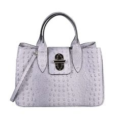 26dd15edac35e ICYMI   Werbung  ITAL DAMEN LEDER TASCHE Shopper Aktentasche Schultertasche  Handtasche Kroko Bag