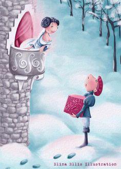 Elina Ellis Illustration: Fairy Tale