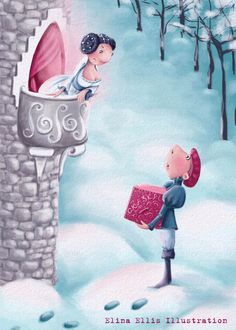 Elina Ellis Illustration: Fairy Tale